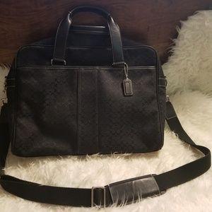 Coach laptop/briefcase bag